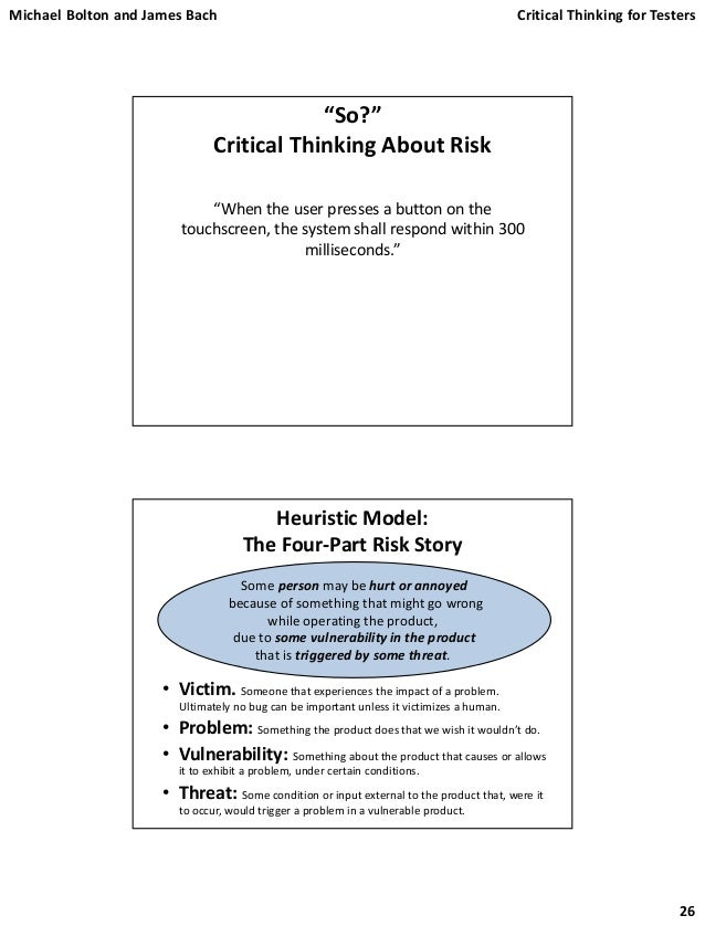Critical thinking for software engineers – Intelligent ...