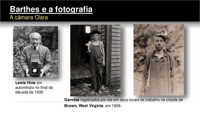 Garotos registrados por ele em seus locais de trabalho na cidade de Brown, West Virginia, em 1909. Lewis Hine em autoretra...