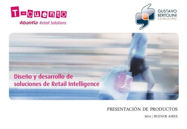 PRESENTACIÓN DE PRODUCTOS 2014   BUENOS AIRES
