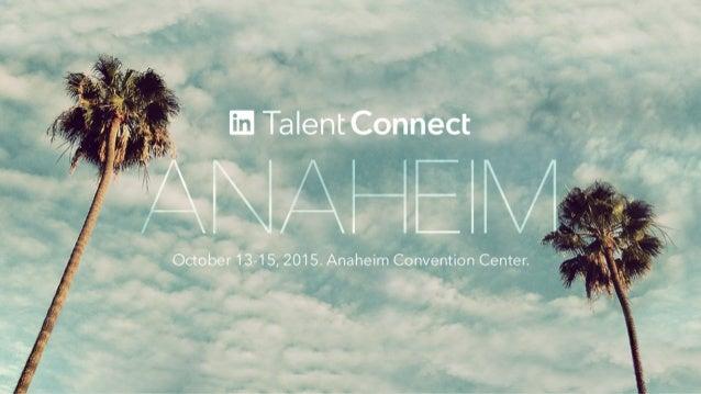 Power of LinkedIn Lookup Finding hidden talent in your organization Ankit Gupta Head of Product, Lookup LinkedIn Andrew Ah...