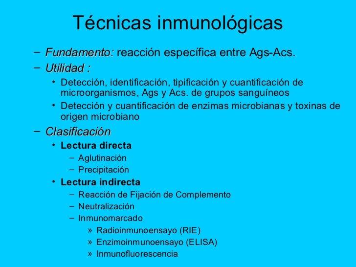 TECNICAS INMUNOLOGICAS EBOOK
