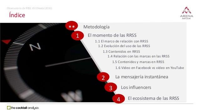 VIII Observatorio de Redes Sociales Slide 2