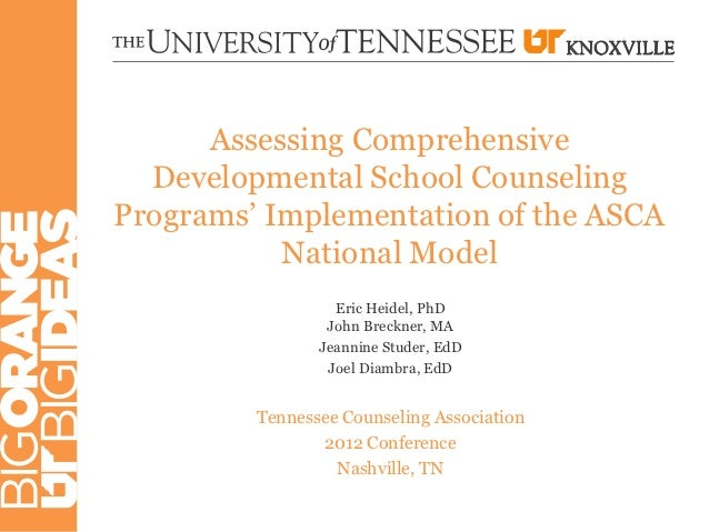 Assessing Comprehensive  Developmental School CounselingPrograms' Implementation of the ASCA           National Model     ...