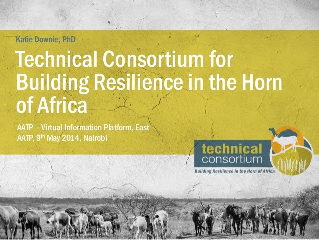Technical consortium for building resilience in the Horn of Africa