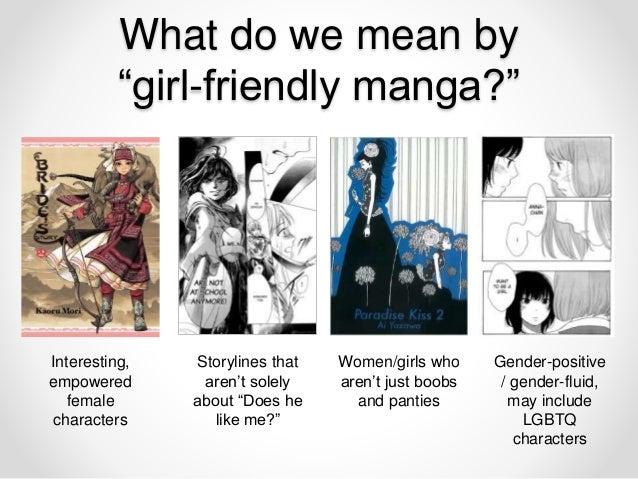 Girl Power How To Create A Female Friendly Manga