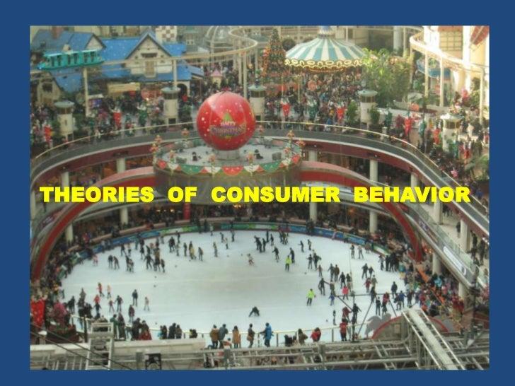 Theories of consumer behaviour