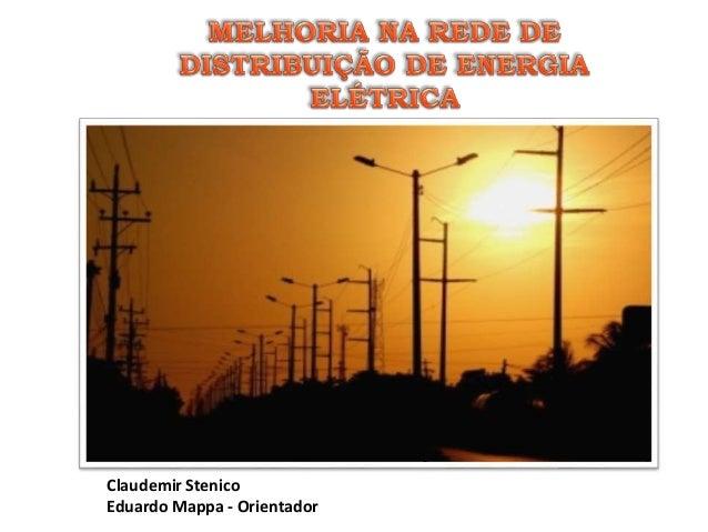 Claudemir Stenico Eduardo Mappa - Orientador