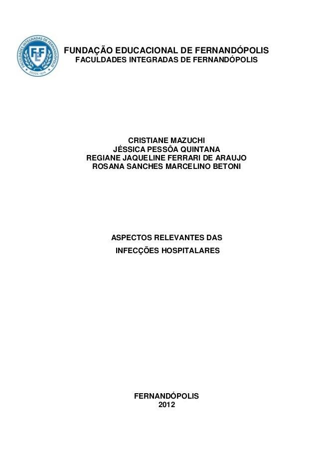 0FUNDAÇÃO EDUCACIONAL DE FERNANDÓPOLIS  FACULDADES INTEGRADAS DE FERNANDÓPOLIS             CRISTIANE MAZUCHI          JÉSS...