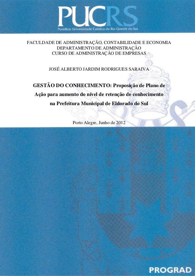 FACULDADE DE ADMINISTRAÇÃO, CONTABILIDADE E ECONOMIA          DEPARTAMENTO DE ADMINISTRAÇÃO        CURSO DE ADMINISTRAÇÃO ...