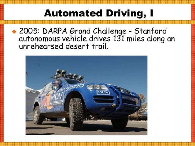Automated Driving, III