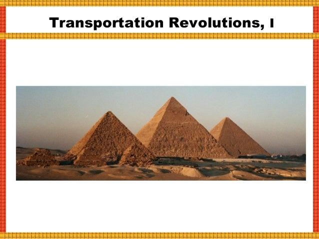 Transportation Revolutions, II