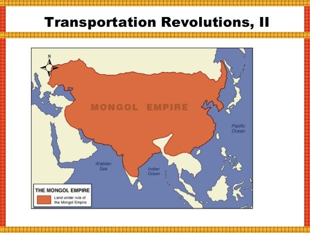 Transportation Revolutions, III