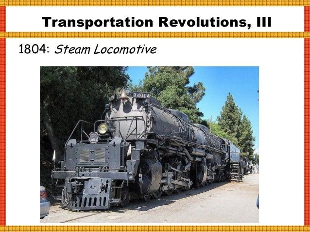 Transportation Revolutions, IV 1908: Ford Model T