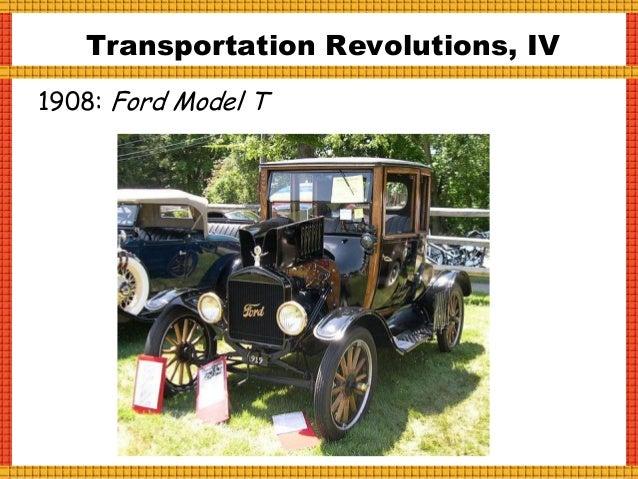 Transportation Revolutions, IV