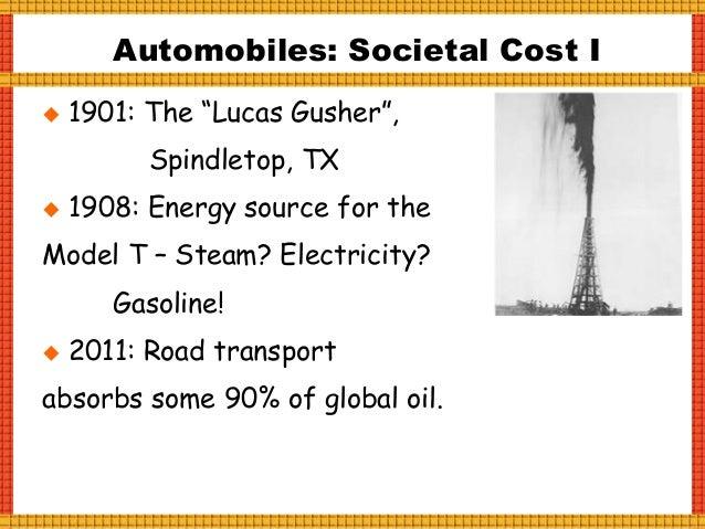 Automobile: Societal Costs, III
