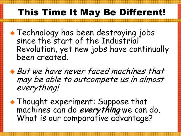 Tipping Point: Industrial Revolution