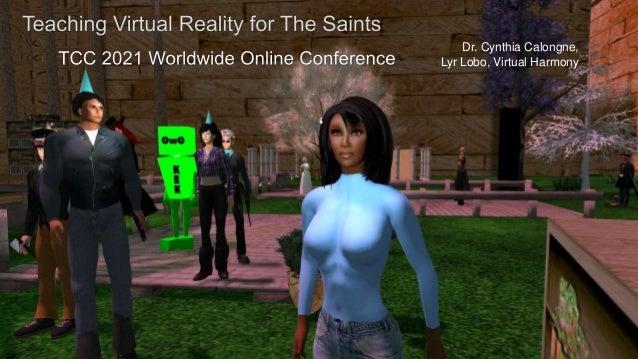 Dr. Cynthia Calongne, Lyr Lobo, Virtual Harmony