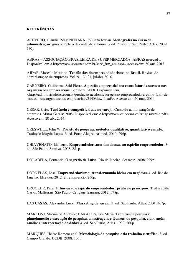 Monografia empreendedorismo pdf
