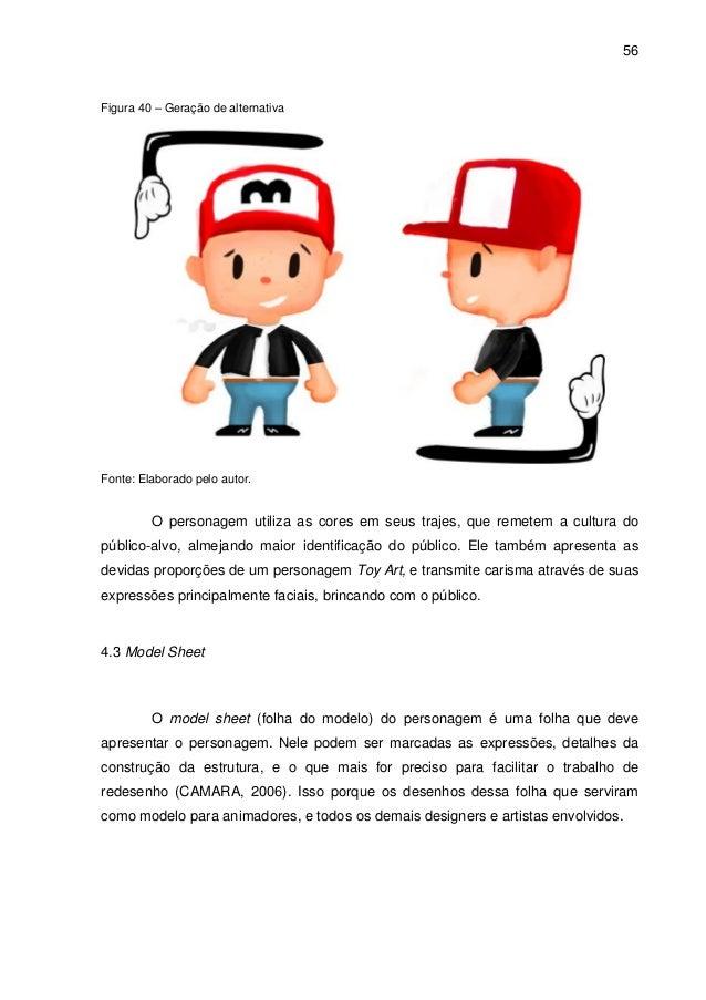 TCC - Animação - Desenvolvimento de personagem toy art como represent… 8326b74e81c