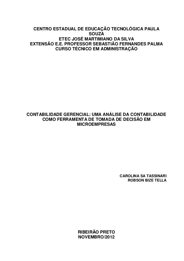 CENTRO ESTADUAL DE EDUCAÇÃO TECNOLÓGICA PAULA                       SOUZA            ETEC JOSÉ MARTIMIANO DA SILVA EXTENSÃ...