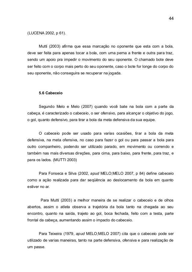 O Papel do Profissional de Educação Física na iniciação ao Futsal 8063aa8384c36
