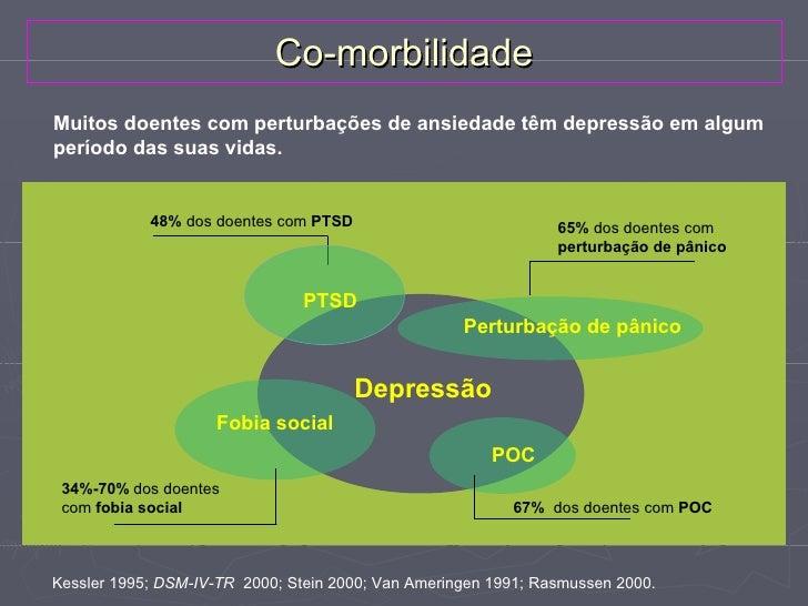 Co-morbilidadeEixo III   Perturbações Endócrinas – Hipo e Hipertiroidismo, Diabetes,    Doença de Cushing e Doença de Add...