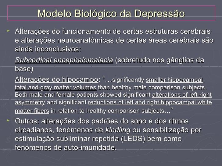 Teorias Psicológicas da Depressão