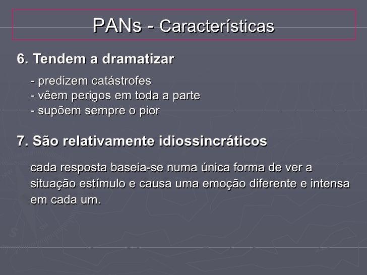 """Perturbação do Funcionamento CognitivoA) PANs/Distorções cognitivas► """"Sou um falhado""""      (Rotulação)►   """"Nada do que eu ..."""