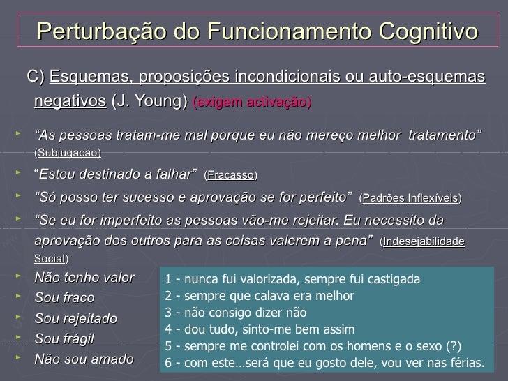 Outros Modelos CognitivosModelo de Seligman►   A depressão resultaria da tendência para atribuir a falha a    qualidades i...