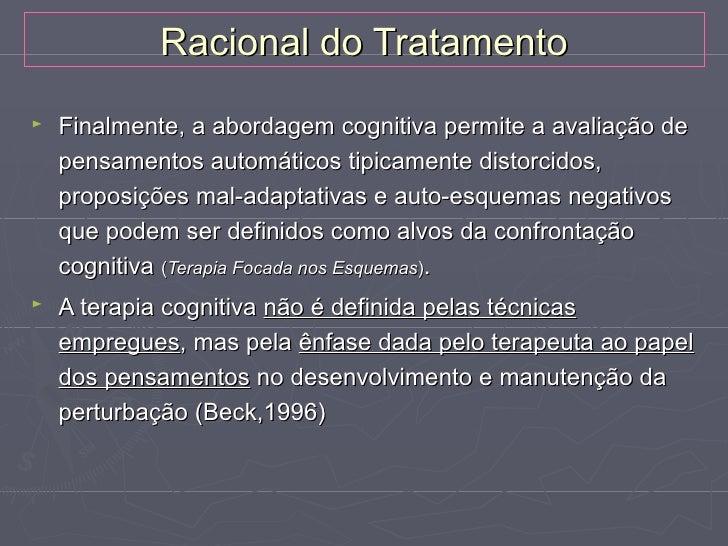 Planificação Geral do Tratamento►   Avaliação     Cognitiva, comportamental e interpessoal     Testes específicos     Suic...