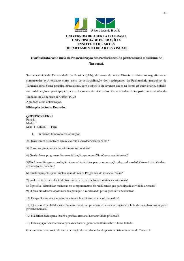 53                                UNIVERSIDADE ABERTA DO BRASIL                                   UNIVERSIDADE DE BRASÍLIA...