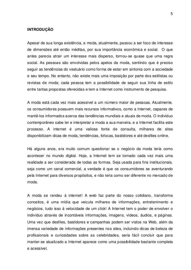 A atuação das marcas brasileiras de moda na internet fd6e938bcc525