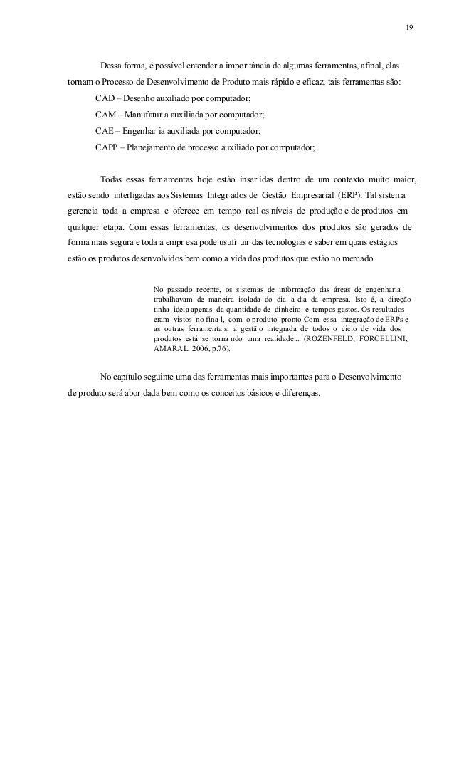 20 CAPÍTULO 2 – DESENHO AUXILIADO POR COMPUTADOR (CAD) Neste capítulo, serão abordados os conceitos básicos de software CA...