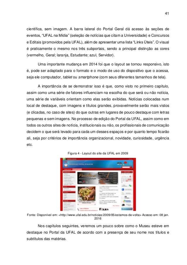 43e8f8a7faa81 Monografia  O Museu de História Natural no Portal da UFAL  uma anális…