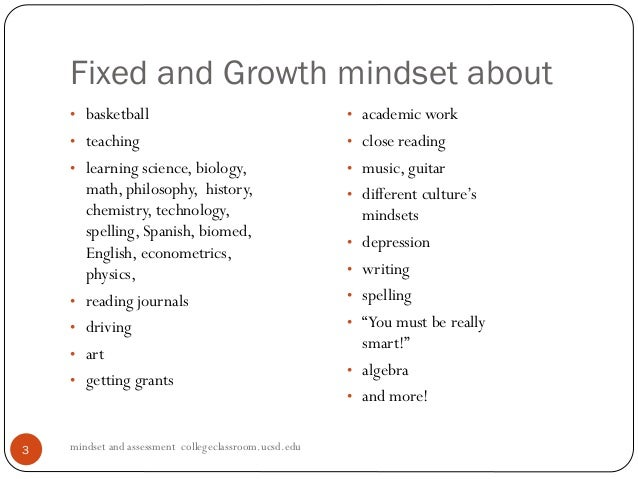 fixed and growth mindsets pdf academic journal