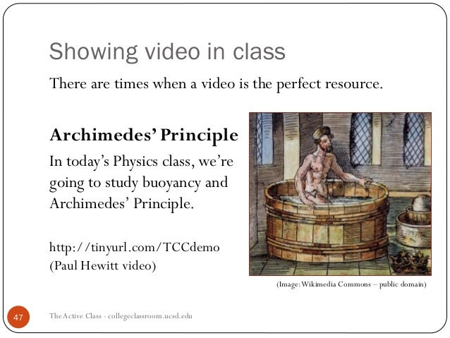 essay on archimedes principle Experiment 7 title archimedes principle objective to use archimedes principle to determine the density of an object more dense than water introduction a.