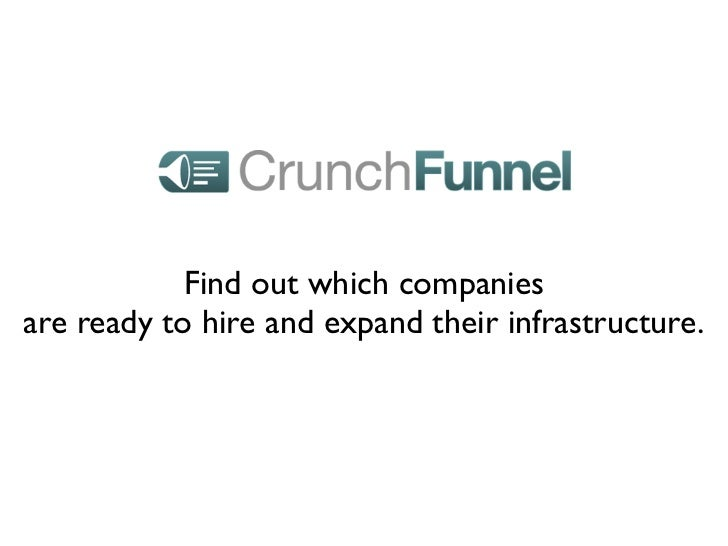 Find out which companiesare ready to hire and expand their infrastructure.