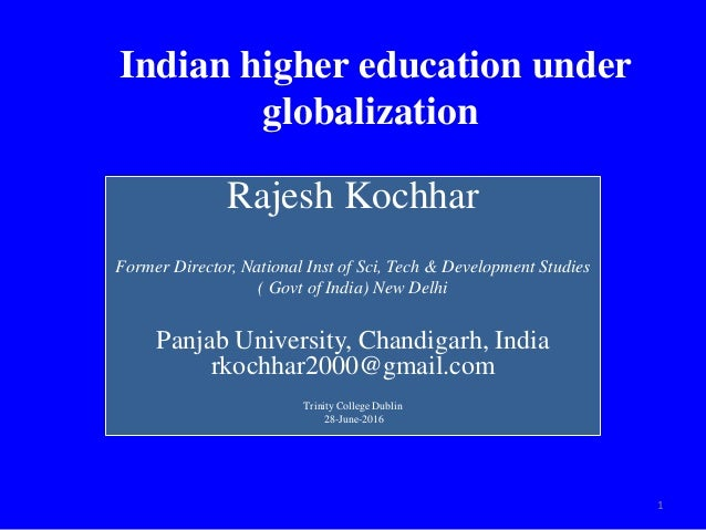 globalization in higher education essay The effects of globalization of education the effects of globalization on education, is an on-going research in the field of international and comparative educationthis essay will first aim to define what globalization is and review different connotations attached to the term itself.