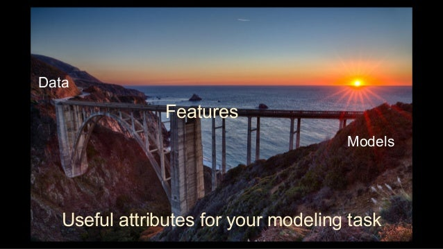 """""""Feature engineering is the process of transforming raw data into features that better represent the underlying problem to..."""