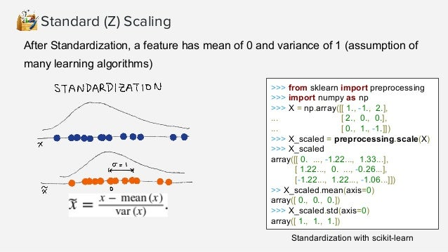 ● Scales individual samples (rows) to have unit vector, dividing values by vector's L2 norm, a.k.a. the Euclidean norm ● U...