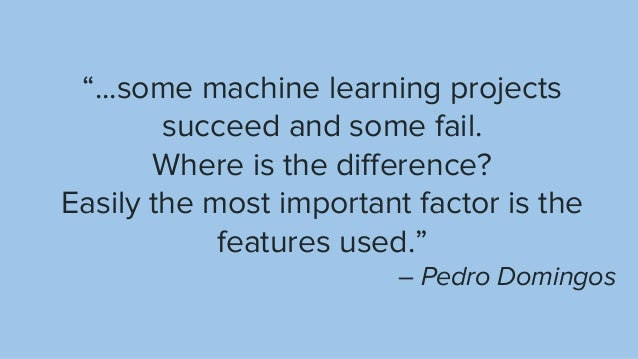 References Scikit-learn - Preprocessing data Spark ML - Feature extraction Discover Feature Engineering...