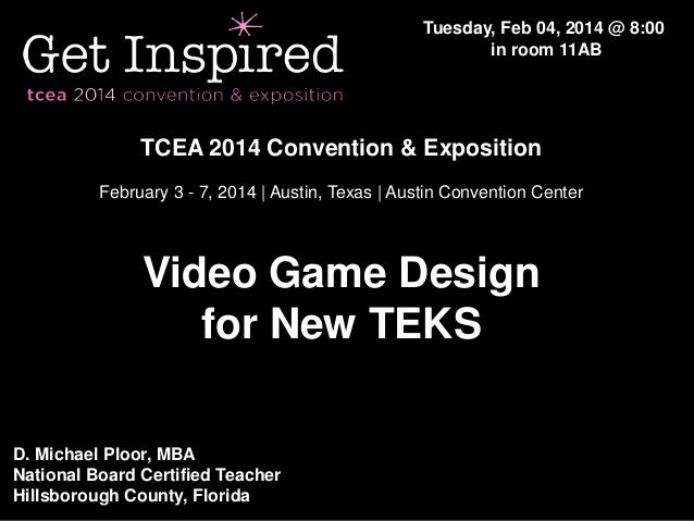 Tuesday, Feb 04, 2014 @ 8:00 in room 11AB  TCEA 2014 Convention & Exposition February 3 - 7, 2014 | Austin, Texas | Austin...
