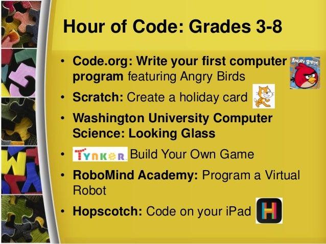 Hour of Code: TCEA Lunch & Learn Webinar, October 1, 2014