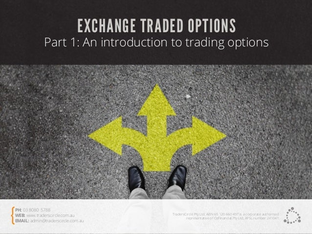 Options trading on the asx