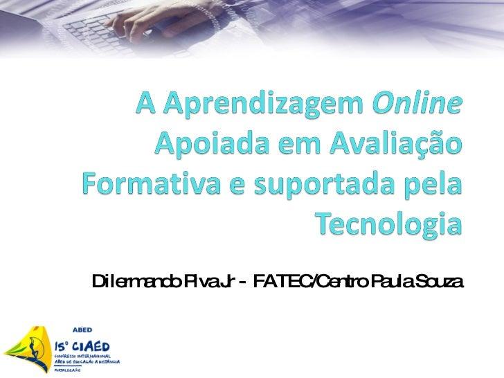 Dilermando Piva Jr -  FATEC/Centro Paula Souza