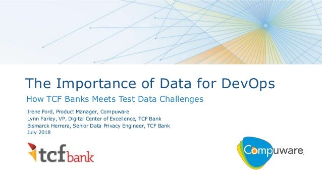 The Importance of Data for DevOps: How TCF Bank Meets Test