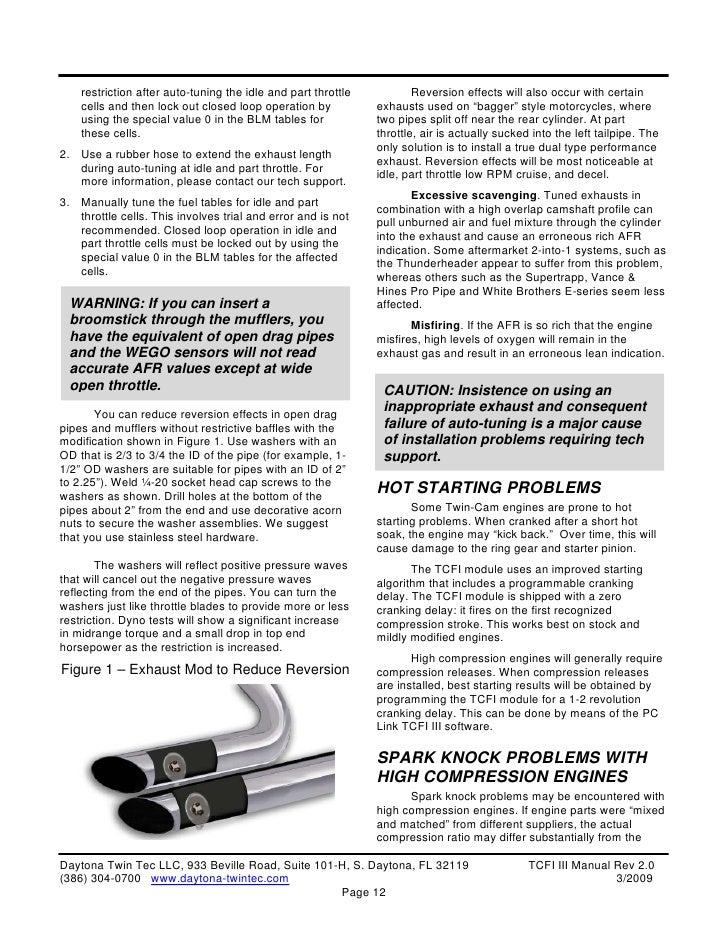 TCFI 3 Installation Manual