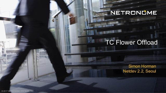 © 2017 NETRONOME SYSTEMS, INC. Simon Horman Netdev 2.2, Seoul TC Flower Offload