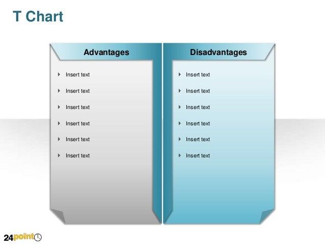 T Chart Diagram Powerpoint