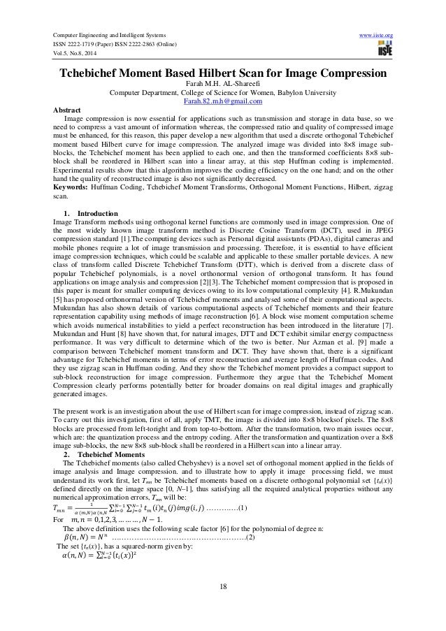 Computer Engineering and Intelligent Systems www.iiste.org  ISSN 2222-1719 (Paper) ISSN 2222-2863 (Online)  Vol.5, No.8, 2...